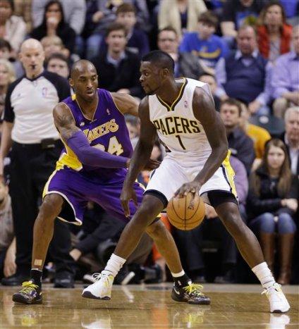 Lance Stephenson, Kobe Bryant