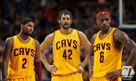 Kevin Love LeBron James trade Cleveland Cavs